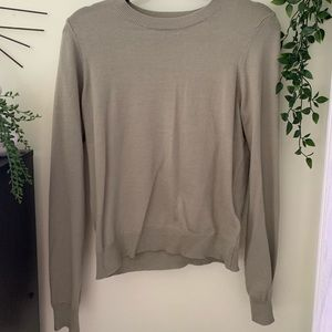 Thin long sleeve forever 21 sweater